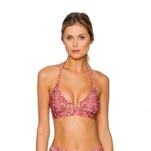 NWT paisley bikini top and bottom